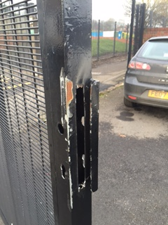 Howitt Primary School Gate Lock Fitted