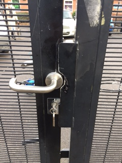 Howitt Primary School Gate Lock Fitted 02