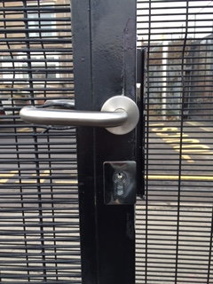 Howitt Primary School Gate Lock Fitted 03