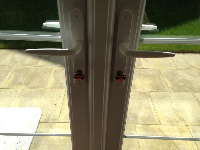 High Security Euro Cylinders Fitted To uPVC Patio Doors