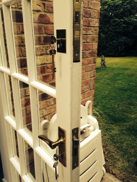 Fitted High Security Sash Lock