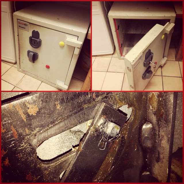 Safe Opened and Repaired