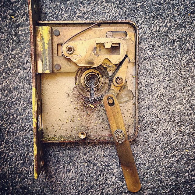 Old Fire Escape Mortice Lock