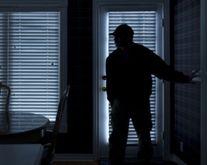 Burglar Entering Home - Melton Mowbray Security