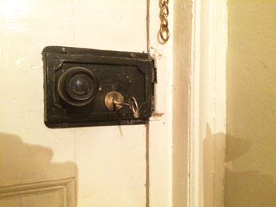 18th Century Lock Fitted To Door