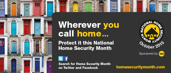 Yale National Home Security Month Banner