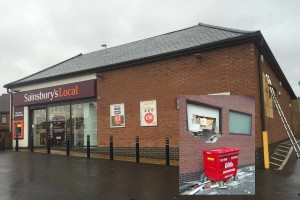 Sainsburys Pensnett - Boarding Up Work