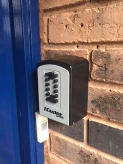 Key Safe Fitted For Elderly Customer 01