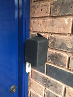 Key Safe Fitted For Elderly Customer 02