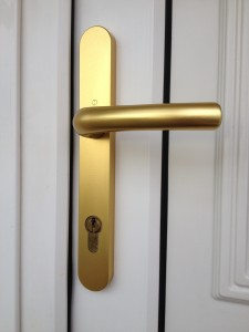 uPVC Door handle replaced