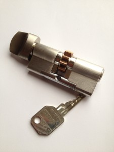 Keyed alike euro cylinder