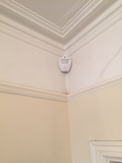 PIR Motion Detector Fitted