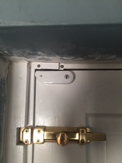 Yale Sensor Fitted To Door