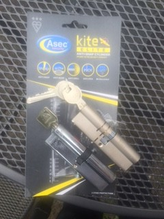 Asec British Standard Lock Fitted For Customer