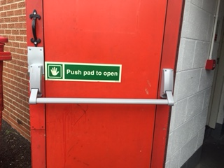 fire-dooFire Door Upgraded After