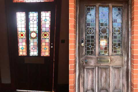 Yale Keyless Lock Fitted To Beautiful Front Door