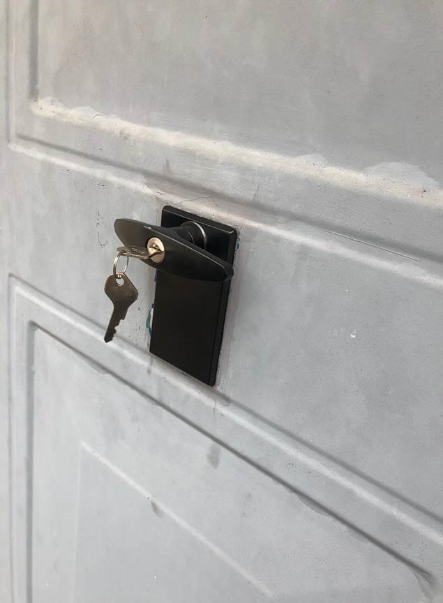ERA Garage Door Lock Fitted
