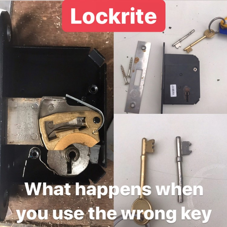 What Happens When You Use The Wrong Key To Open A Lock